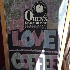 Photo taken at Oren's Daily Roast by @thirstynyc on 5/18/2014