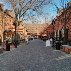 Photo taken at Brightleaf Square by Ashley B. on 3/23/2013