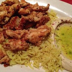 Photo taken at Aladdin Mediterranean Grill by Find It In Fondren on 3/9/2013