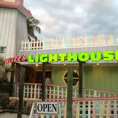 Photo taken at Buzz's Lighthouse Restaurant by Luke H. on 2/5/2013