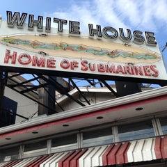 Photo taken at White House Sub Shop by Sean F. on 10/12/2012