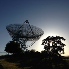 Photo taken at Stanford Dish Trail by Tanner P. on 4/19/2013