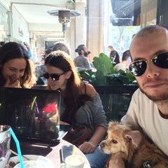 Photo taken at Cafe Nona (קפה נונה) by Orr H. on 12/26/2014