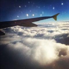 """Photo taken at Aeroporto di Catania Fontanarossa """"Vincenzo Bellini"""" (CTA) by Antonella D. on 12/25/2012"""