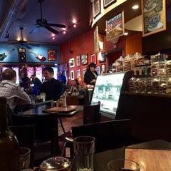 Photo taken at Rockn' Joe Coffeehouse & Bistro by Mari Y. on 3/15/2015