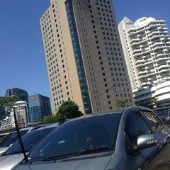 Photo taken at ANZ Tower by Hermawan W. on 7/14/2014