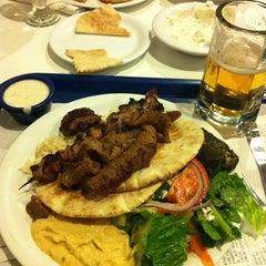 Photo taken at Zorba's Cafe by erik w. on 10/19/2012