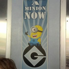Photo taken at Despicable Me: Minion Mayhem by Anna R. on 10/18/2012