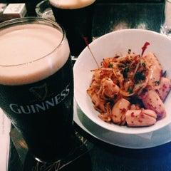 Photo taken at Malones Irish Restaurant & Bar by Elizabeth T. on 10/26/2014