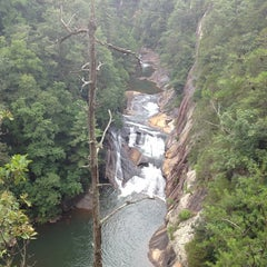 Photo taken at Tallulah Gorge State Park by Tim A. on 7/28/2013