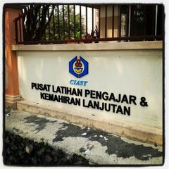 Photo taken at Pusat Latihan Pengajar dan Kemahiran Lanjutan (CIAST) by Shahrul Azwan on 9/19/2012