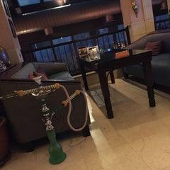 Photo taken at مقهى البنديره - Al Bindaira Café by Amaal I. on 9/24/2015
