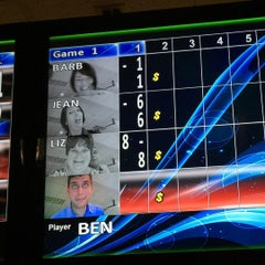 Photo taken at Rolling Lanes Bowling Alley by Ben H. on 8/13/2015