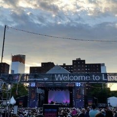 Photo taken at Damrosch Park by NYCFreeConcerts on 7/25/2015