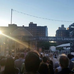Photo taken at Damrosch Park by NYCFreeConcerts on 8/9/2015