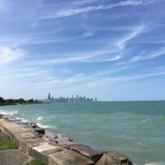 Photo taken at Chicago's Lakefront (Hyde Park) by Ruben K. on 7/15/2015