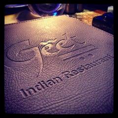 Photo taken at Geet Indian Restaurant by Hans H. on 4/24/2013