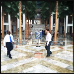 Photo taken at Brookfield Place by Omer K. on 7/15/2015