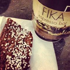 Photo taken at FIKA Espresso Bar by Stephanie S. on 12/15/2012