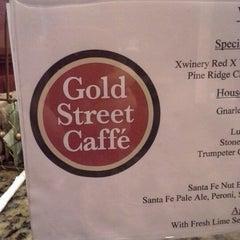 Photo taken at Gold Street Caffe by Matthew M. on 10/22/2012