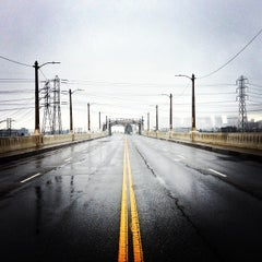 Photo taken at Sixth Street Bridge by Reyn H. on 12/1/2012