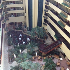 Photo taken at Embassy Suites by Hilton Tampa USF Near Busch Gardens by Tracy L. on 3/6/2013