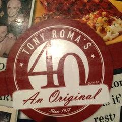 Photo taken at Tony Roma's by Paula Gabriela G. on 2/18/2013