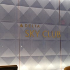 Photo taken at Delta Sky Club by George G. on 11/2/2012