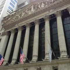 Photo taken at New York Stock Exchange by Yuko S. on 3/23/2013
