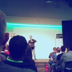 Photo taken at DroidconUK by Shashank K. on 10/31/2014