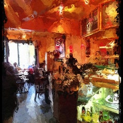 Photo taken at Cafe Reverie by Rosemarie M. on 1/25/2013