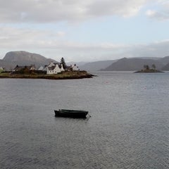 Photo taken at Plockton Harbor by Sophie M. on 11/11/2013