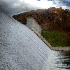 Photo taken at Loch Raven Dam by AK S. on 10/20/2012