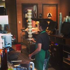 Photo taken at Starbucks by Adam J. on 4/16/2014