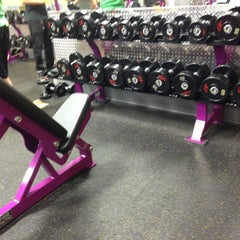 Photo taken at Planet Fitness by Ankit S. on 10/4/2012