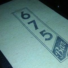 Photo taken at 675 Bar by Sara G. on 11/18/2012