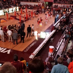 Photo taken at Cassell Coliseum by Sara P. on 2/7/2015