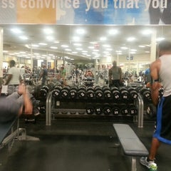 Photo taken at LA Fitness by Britt A. on 11/15/2012