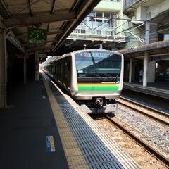 Photo taken at 石橋駅 (Ishibashi Sta.) by M.okb on 8/5/2015