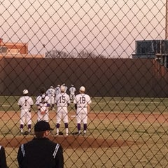 Photo taken at Richardson High School Baseball Field by Kirsten O. on 3/26/2014