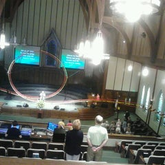 Photo taken at First Baptist Church Decatur by Jackie S. on 5/26/2013