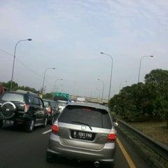 Photo taken at Jalan Tol Lingkar Luar Jakarta Seksi W1 (JORR W1) by Quinta Ayu P. on 9/16/2013