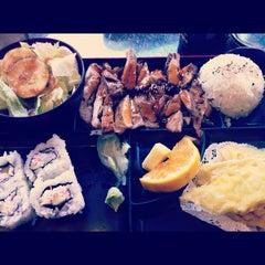 Photo taken at Sushi & Teri by Mikaela I. on 10/4/2012
