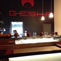 Photo taken at Geisha Sushi Bar by Marek R. on 11/9/2014