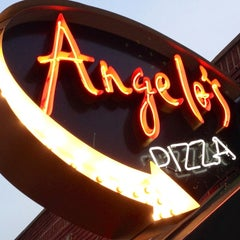 Photo taken at Angelo's Pizza by Rick U. on 8/13/2013