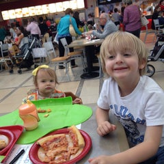 Photo taken at Southpark Food Court by Catherine D. on 4/22/2015