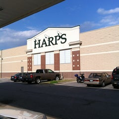 Photo taken at Harps Food Store by Frank M. on 4/9/2013