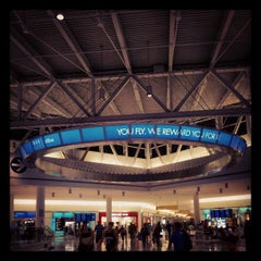 Photo taken at John F. Kennedy International Airport (JFK) by Matt S. on 7/15/2013