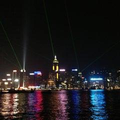 Photo taken at Symphony of Lights 幻彩詠香江 by lyuda t. on 3/10/2013