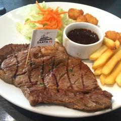 Photo taken at Santa Fe' Steak & More by Ker on 10/20/2015